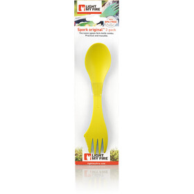 Light My Fire Spork Original 2-pack Lime/Green